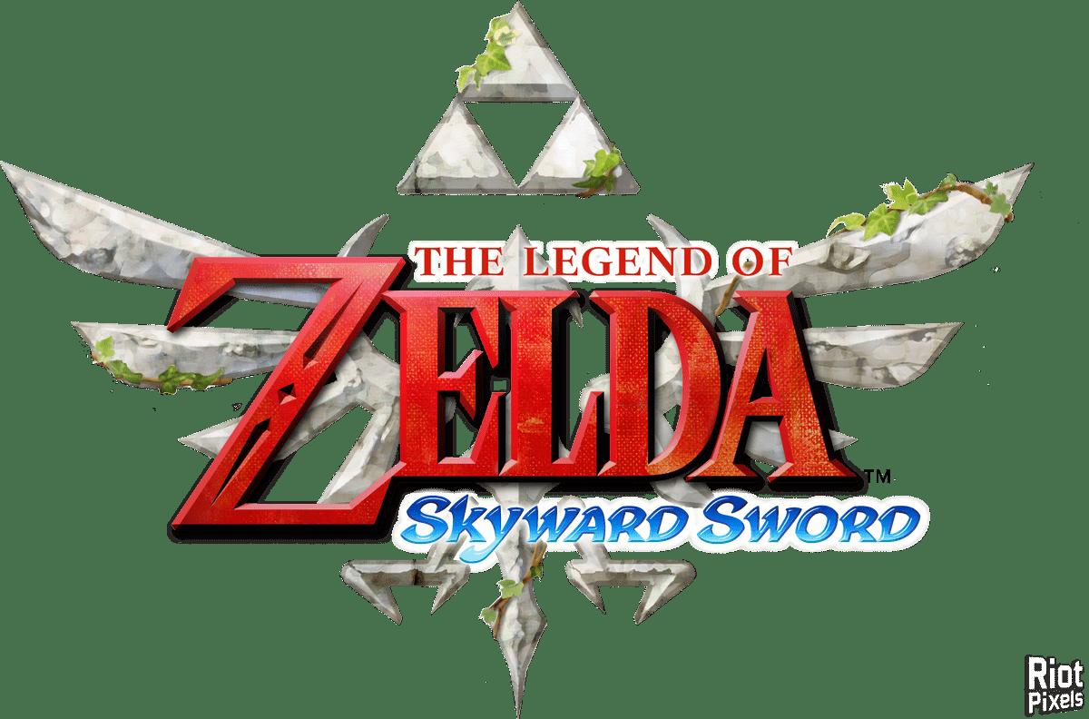 The Legend of Zelda: Skyward Sword Logo Vector Icon Template Clipart