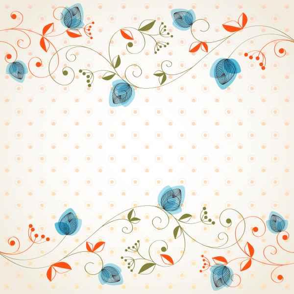 Draw Cartoon Flower Background 3 png