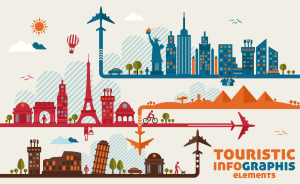 Travel Infographic Template png