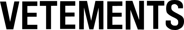 Vetements Logo png