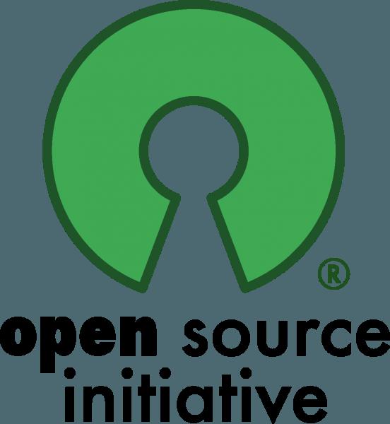 open source logo 552x600 vector