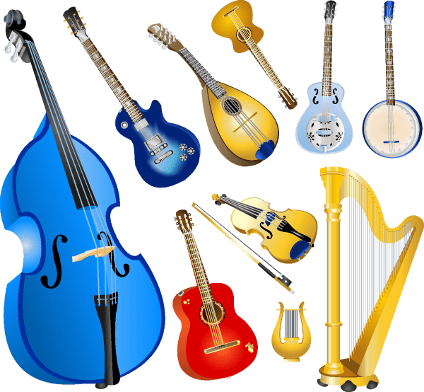 Musical Instruments Elements