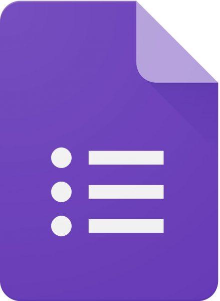 Google Forms Logo png