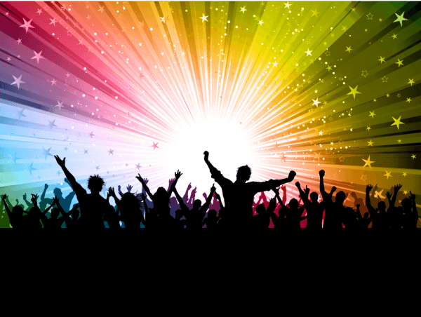 Party People Silhouettes 02 png