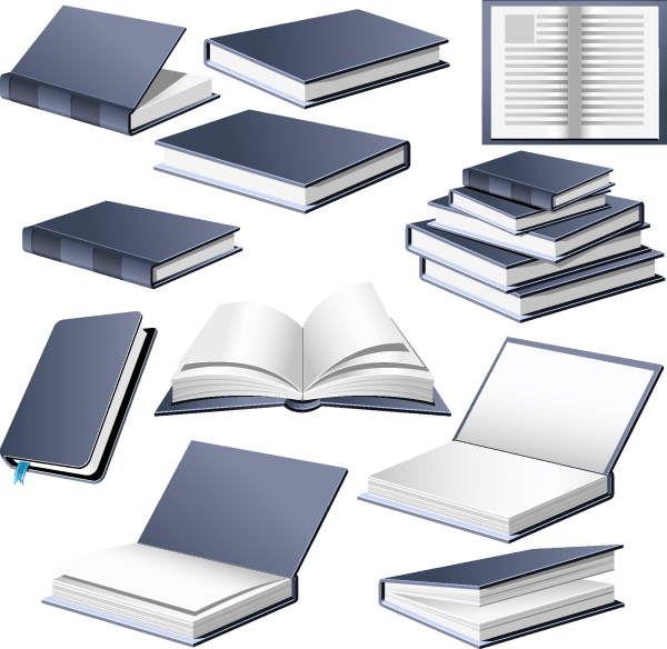 Books vector 01 png