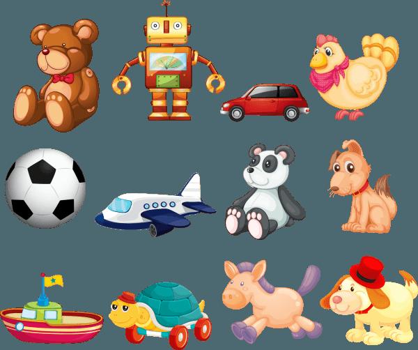 Toys for Children Vector 01