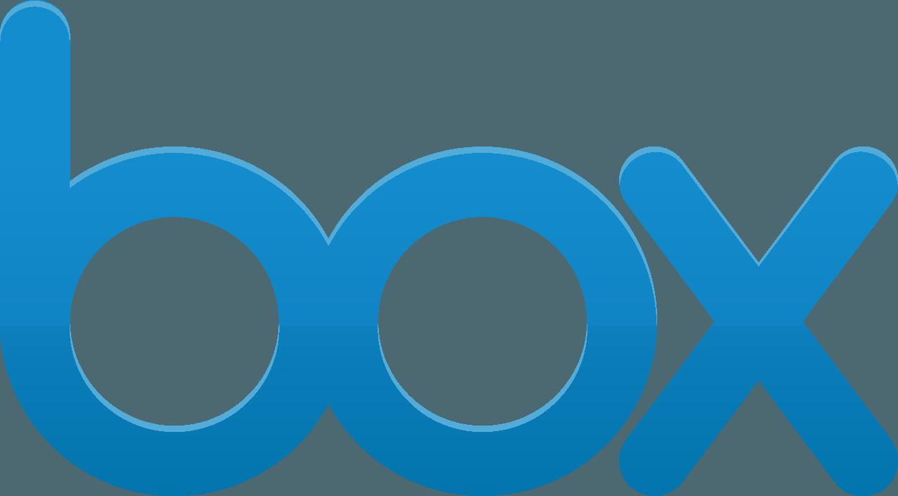 Box Logo [Online file sharing] png