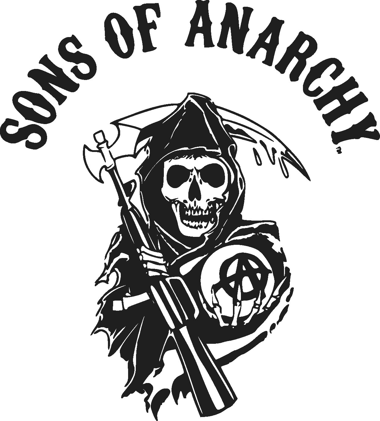 Sons of Anarchy Logo png