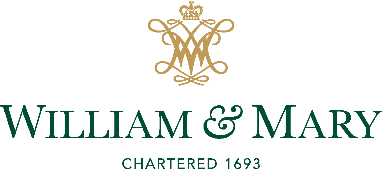 william and mary logo vector