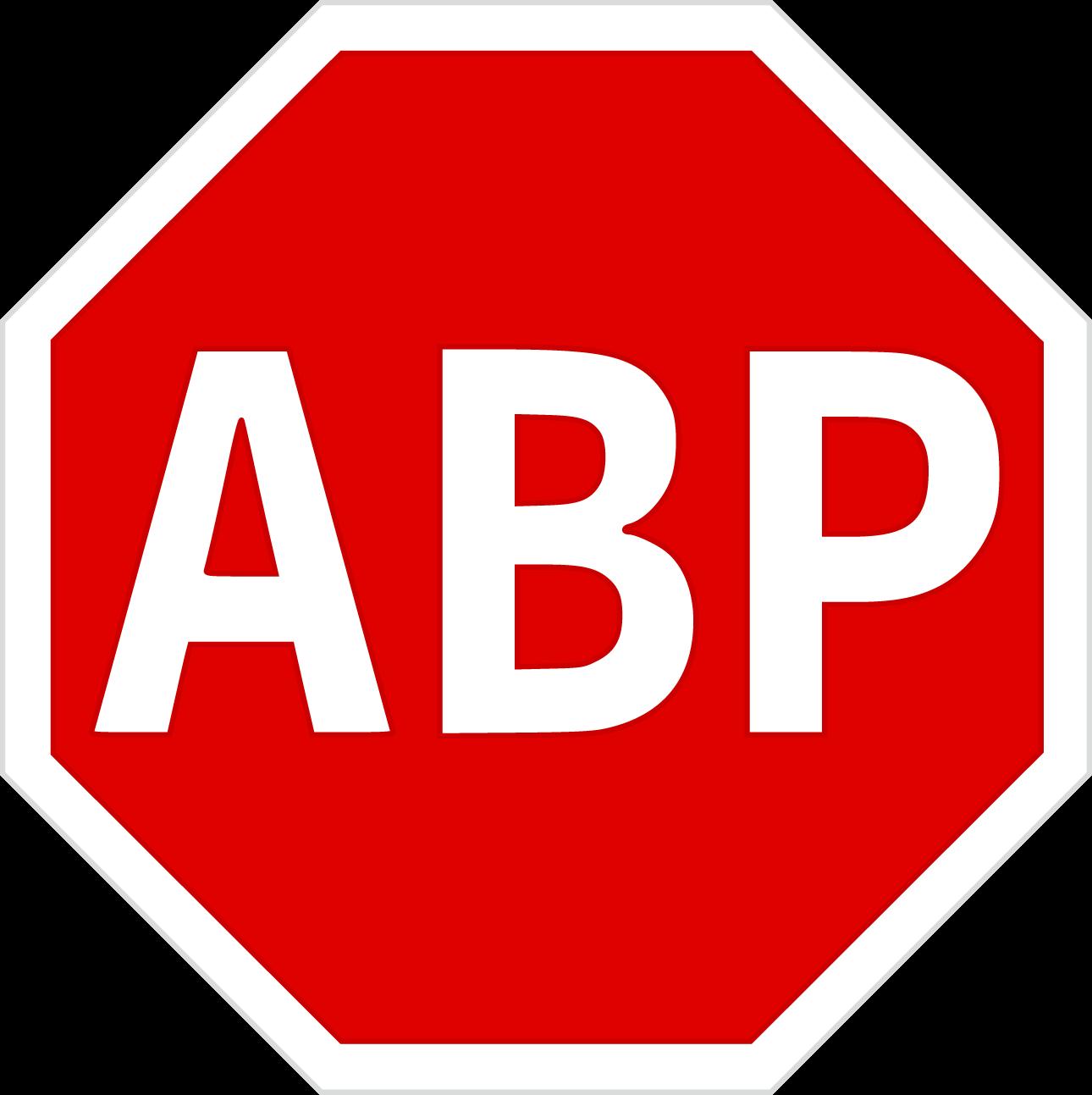 Adblock Logo png