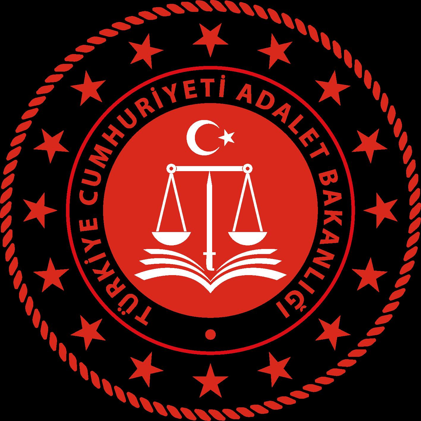 T.C. Adalet Bakanlığı Yeni Logo png