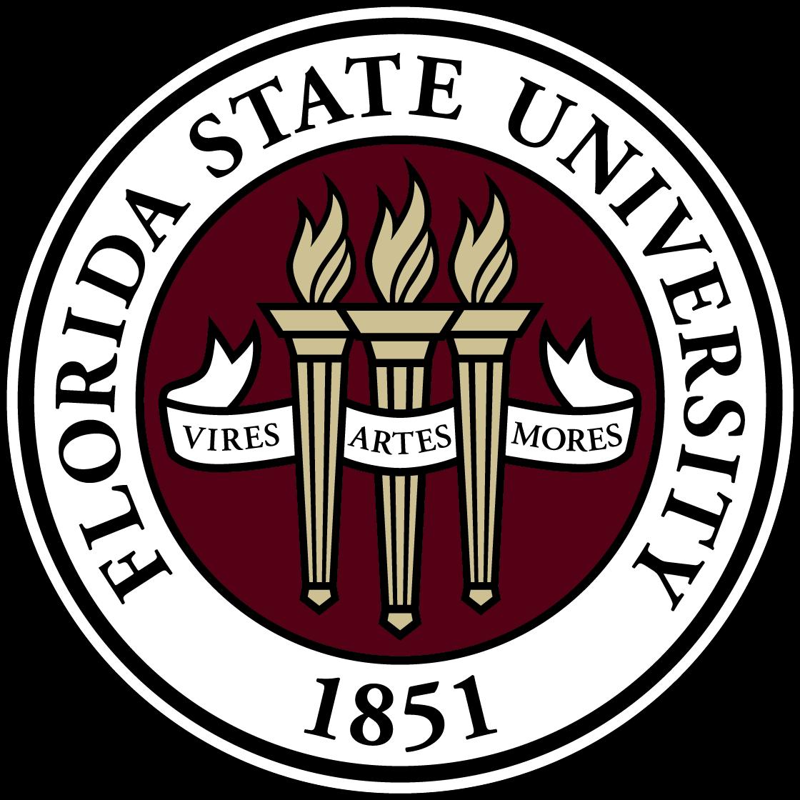 Florida State University Logo   FSU png