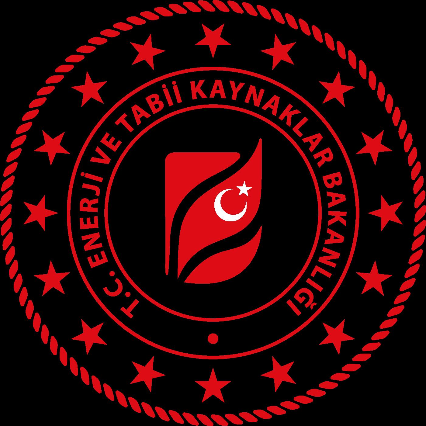 T.C. Enerji ve Tabii Kaynaklar Bakanlığı Logosu png