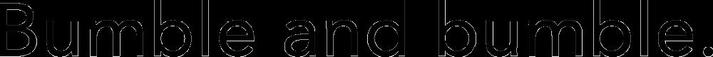 Bumble and bumble Logo png