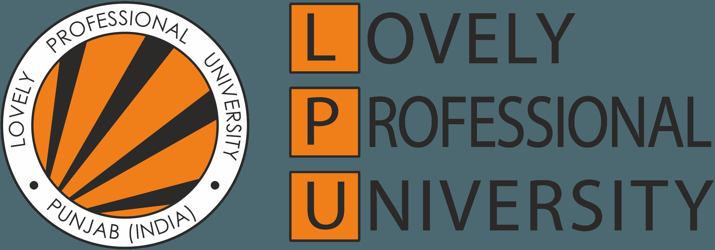 LPU Logo   Lovely Professional University png