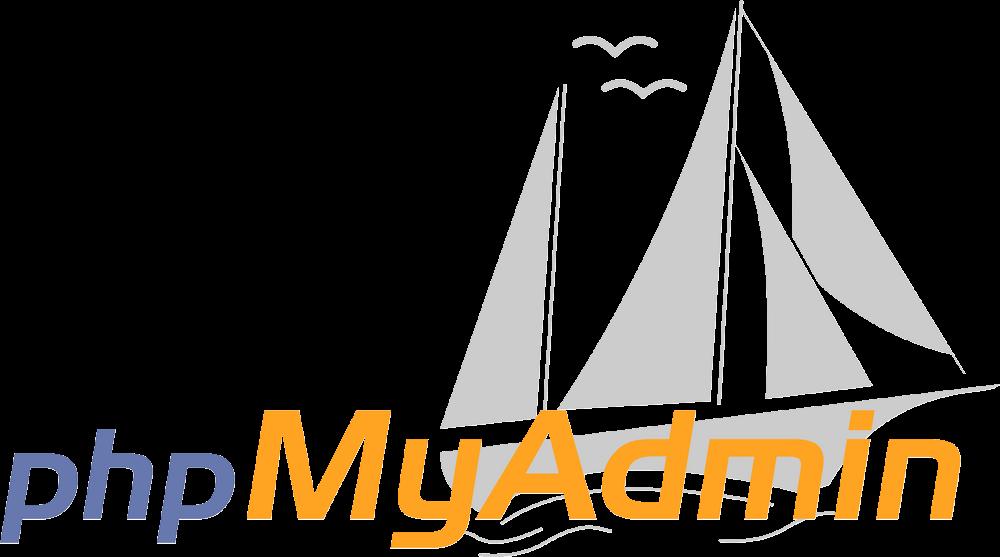 PhpMyAdmin Logo png