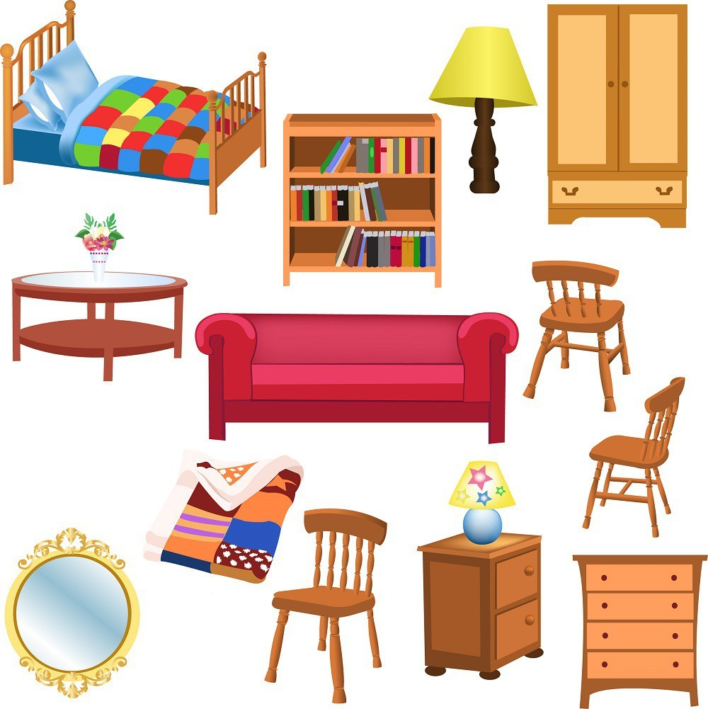 Furniture set 01 png
