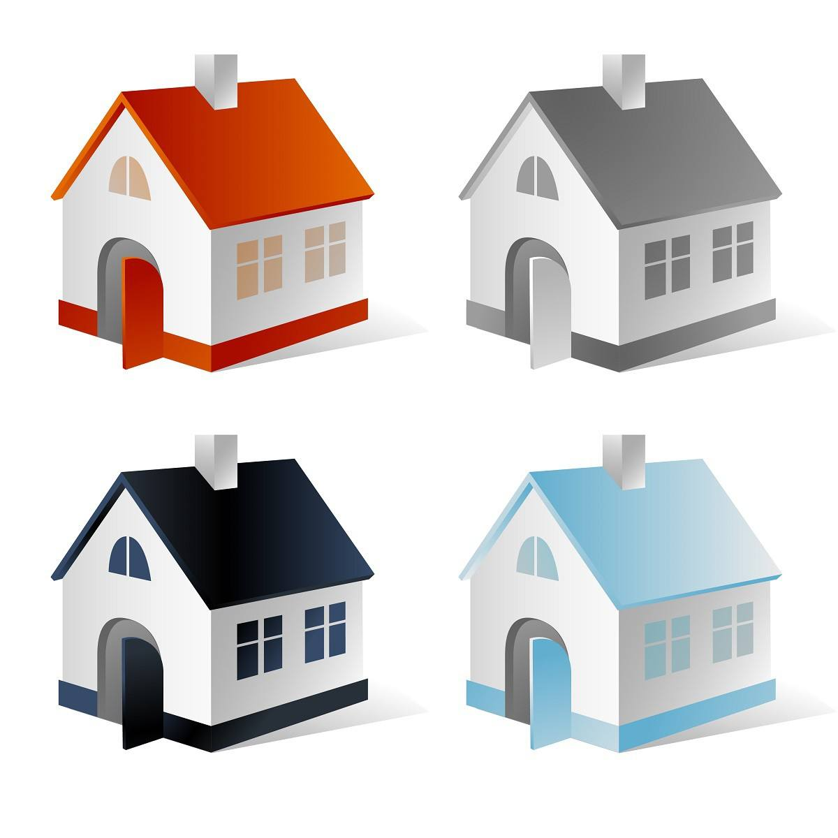 House vector 004 png