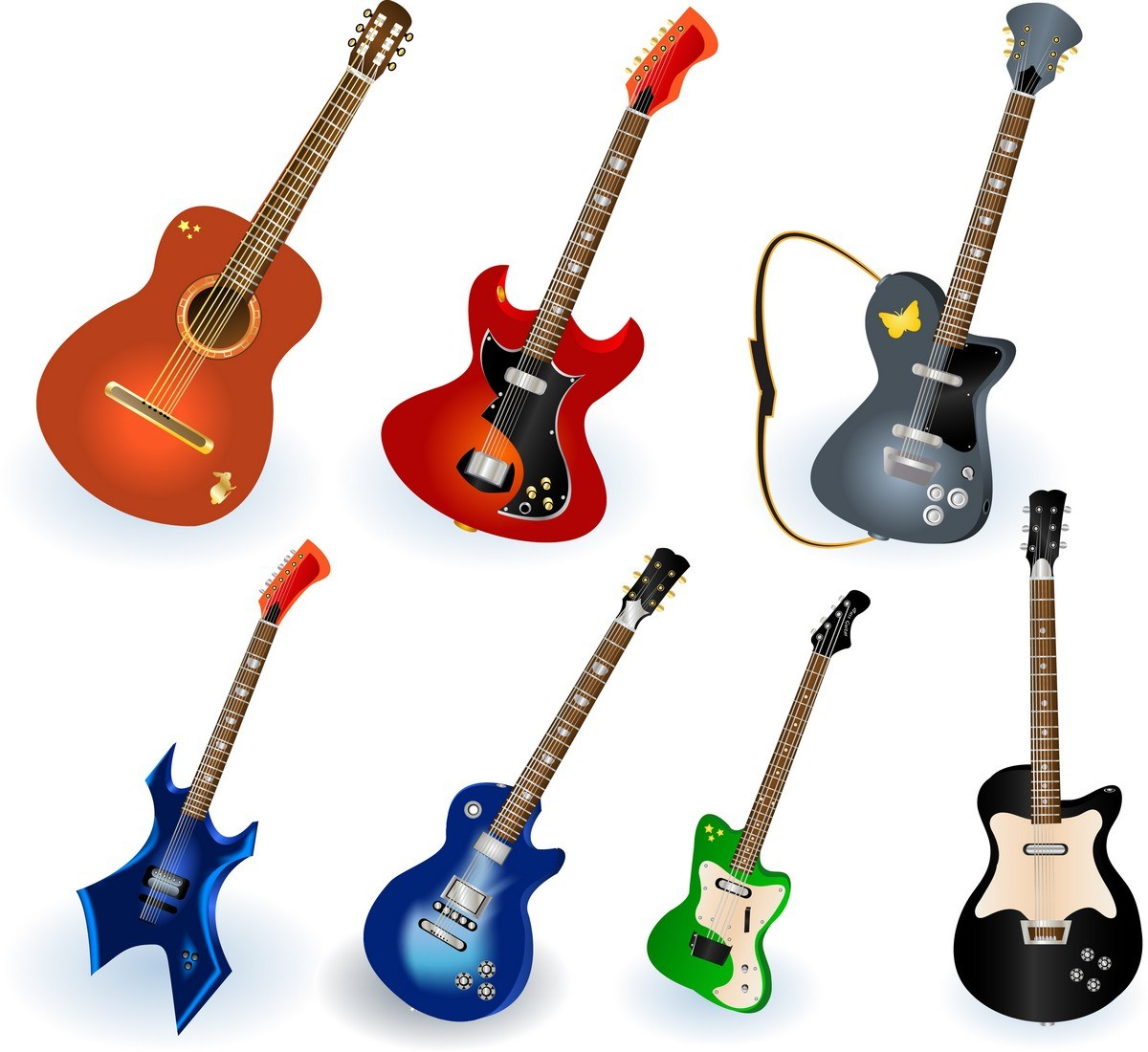 Musical Instruments Elements 01 png