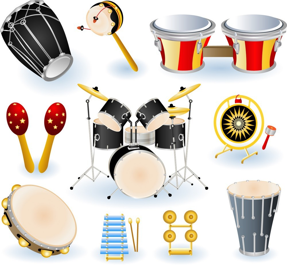 Musical Instruments   Drums Collection png