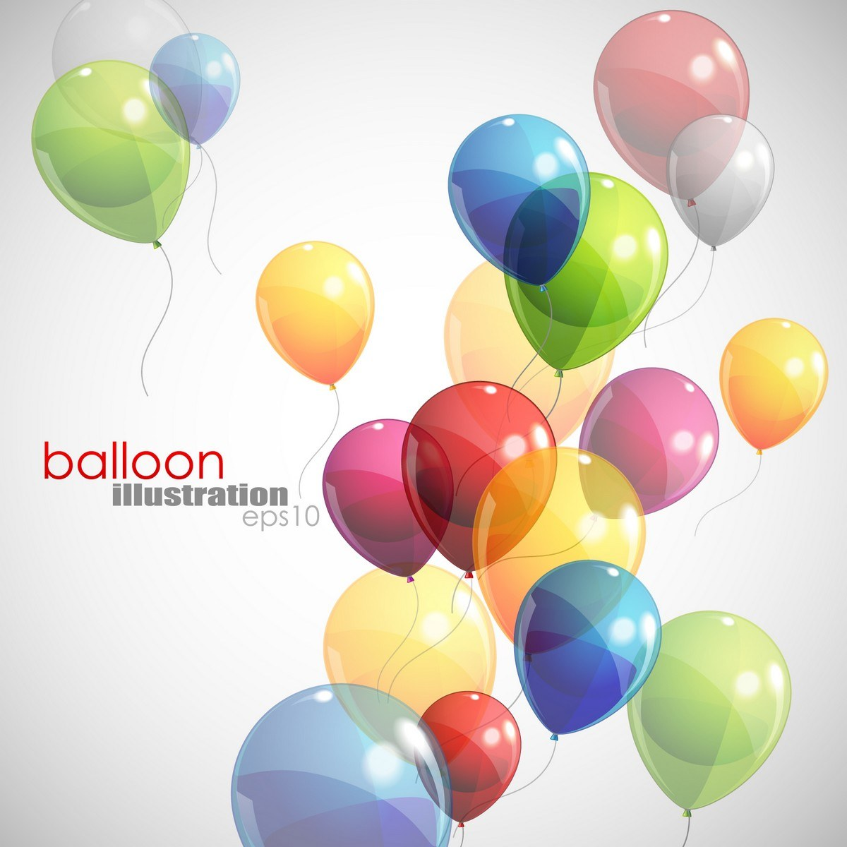 Balloons Background 01 png