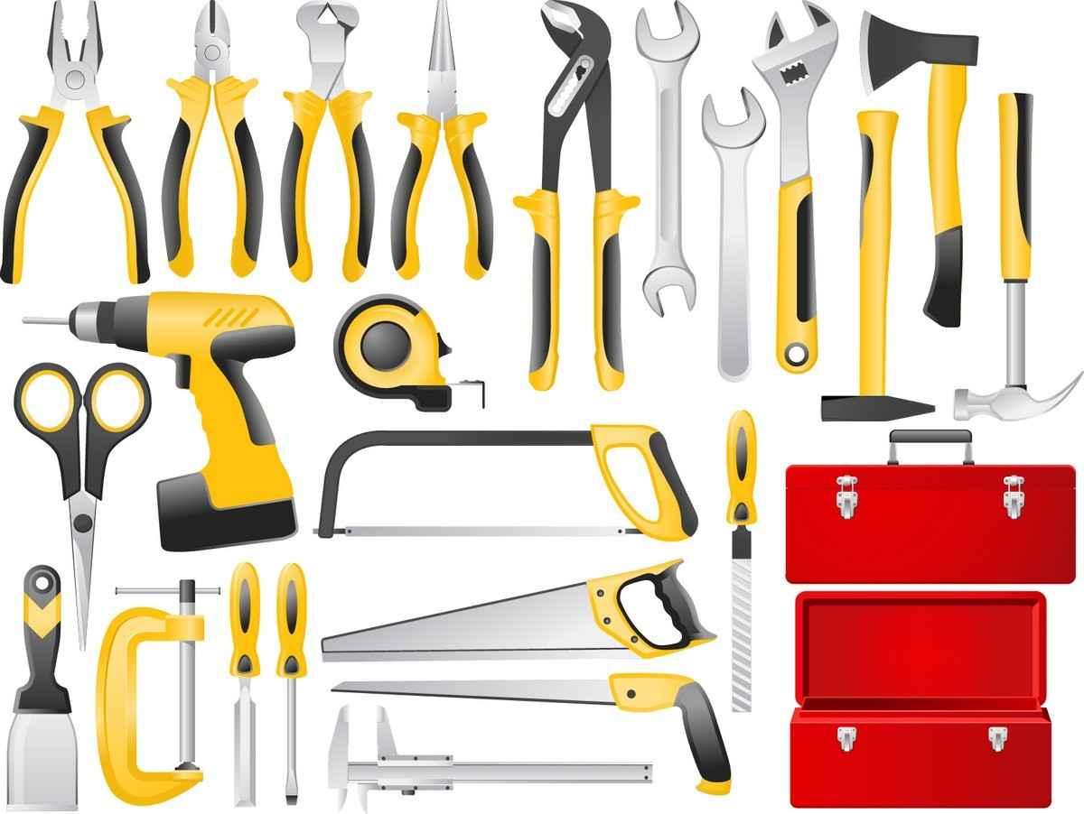 Building Tools Set 01 png