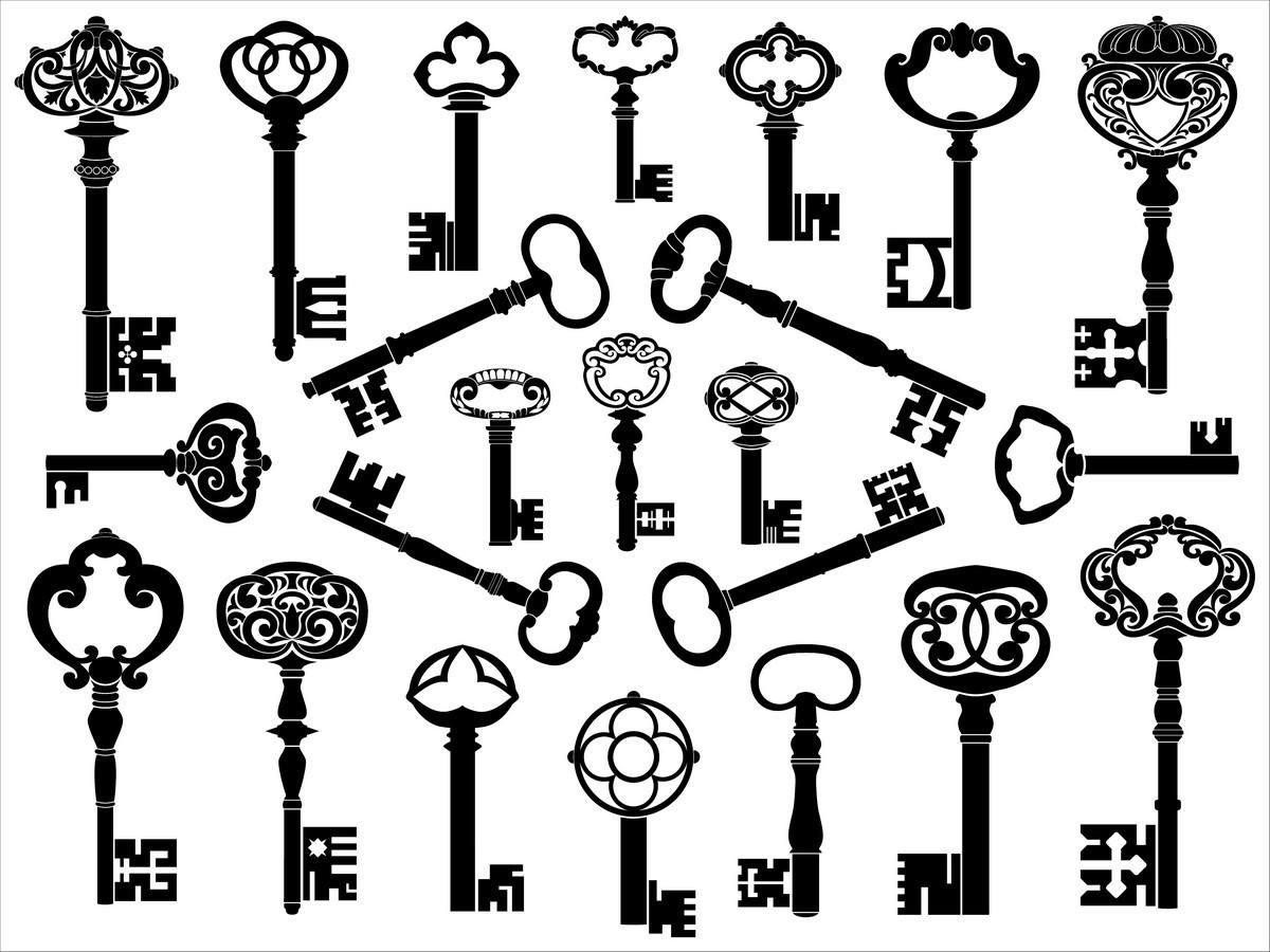 European retro keys 1 png
