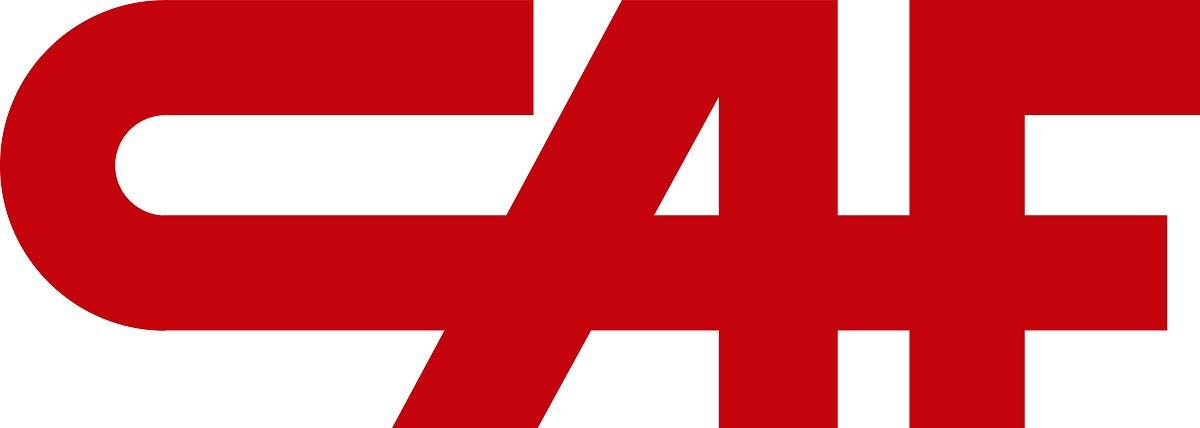 CAF Logo   Construcciones y Auxiliar de Ferrocarriles png