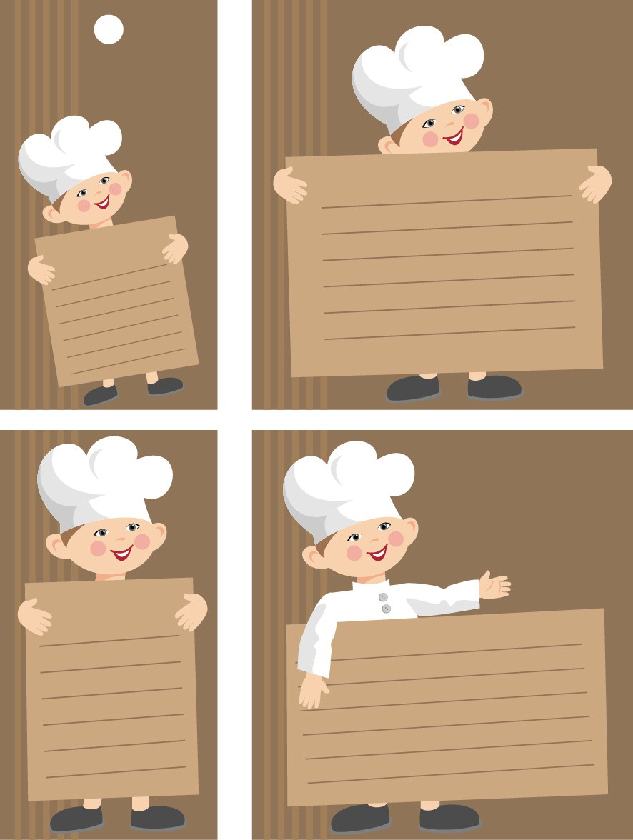 Chefs bulletin board png