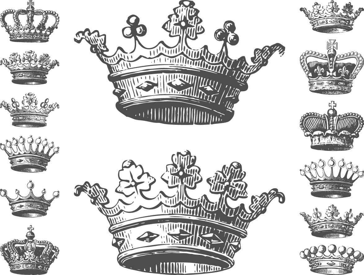 Crowns drawings png