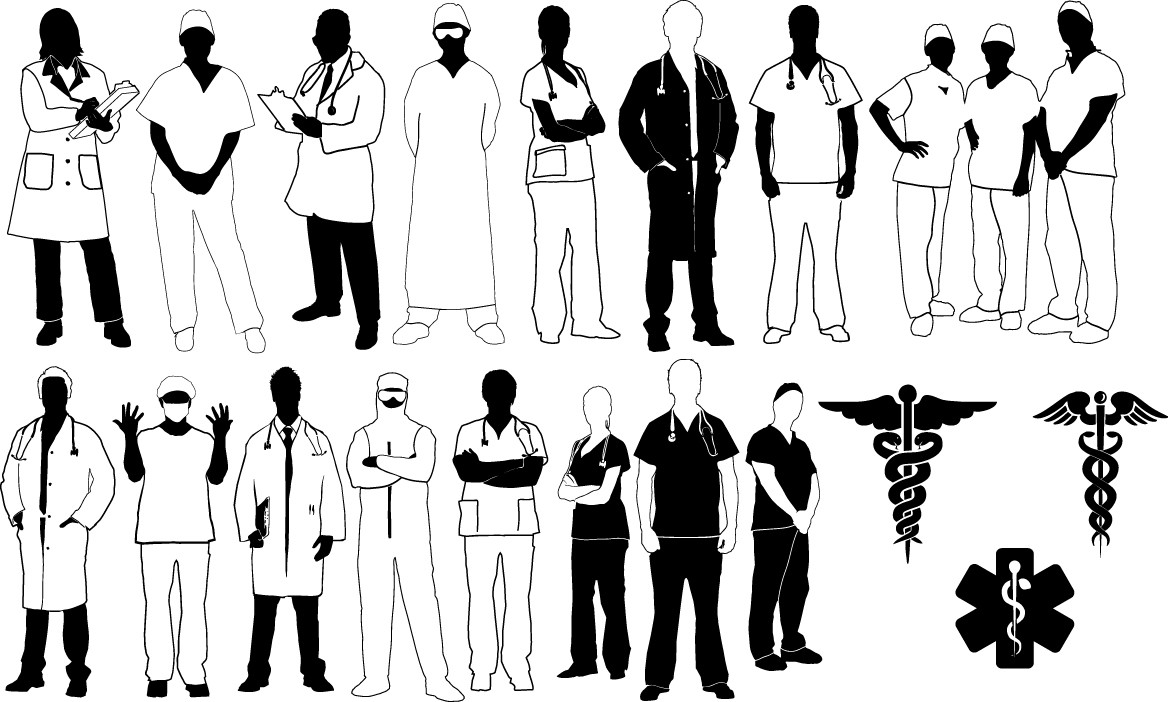 Doctor silhouette png