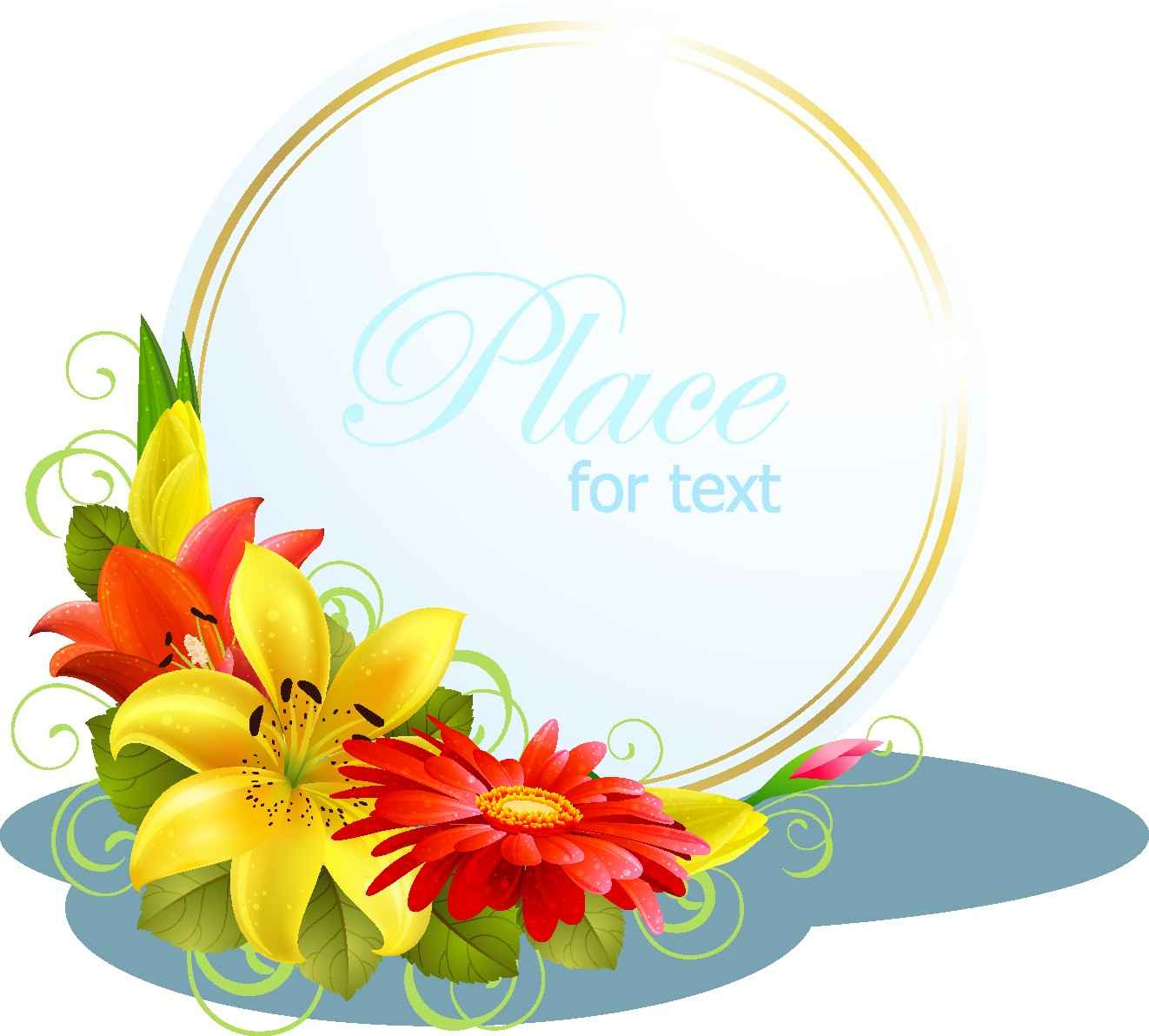 Flower Greeting Cards png