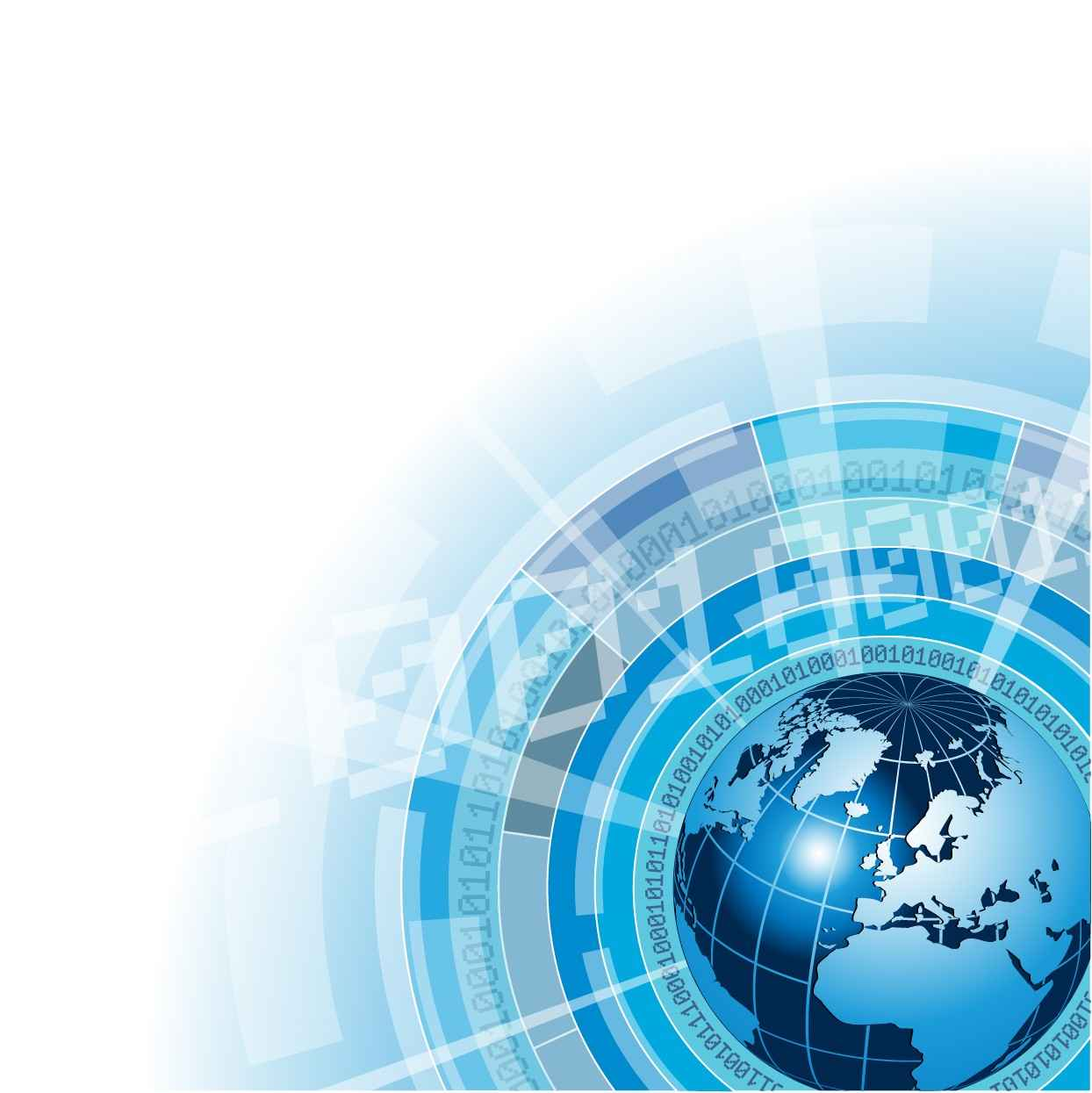 Global networking background png
