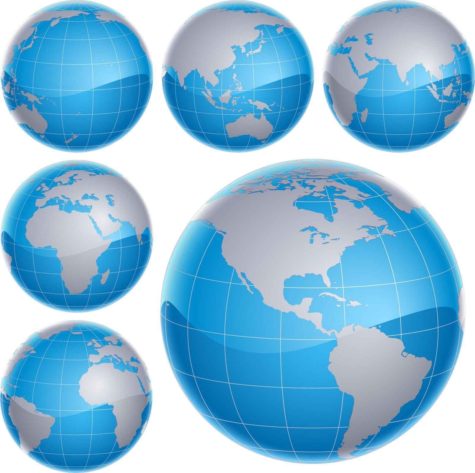 Globe Map png