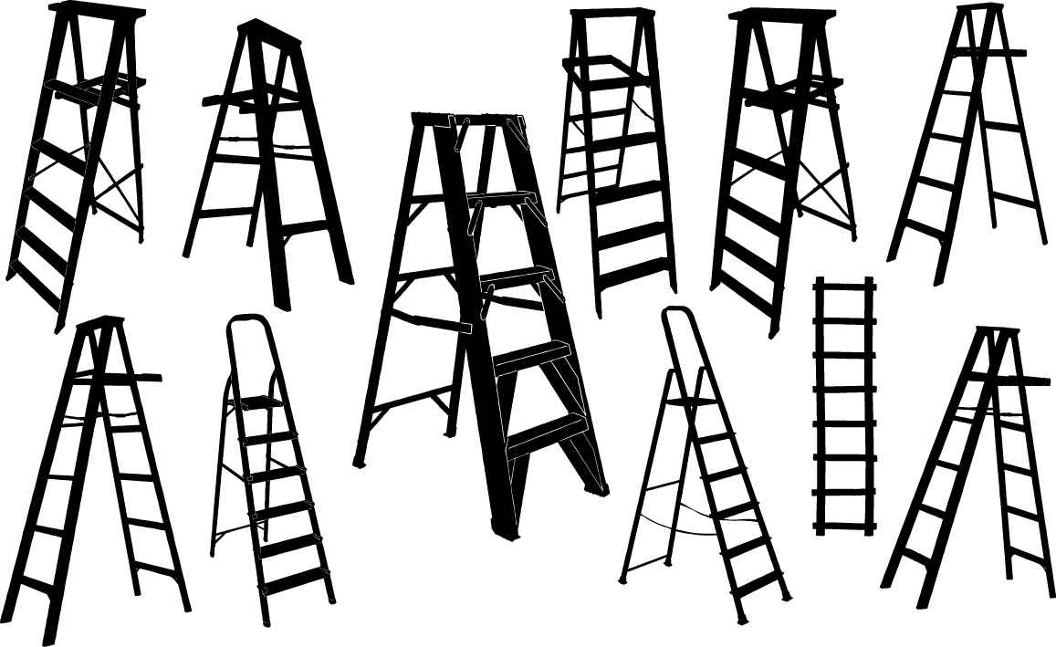 Ladder silhouette png