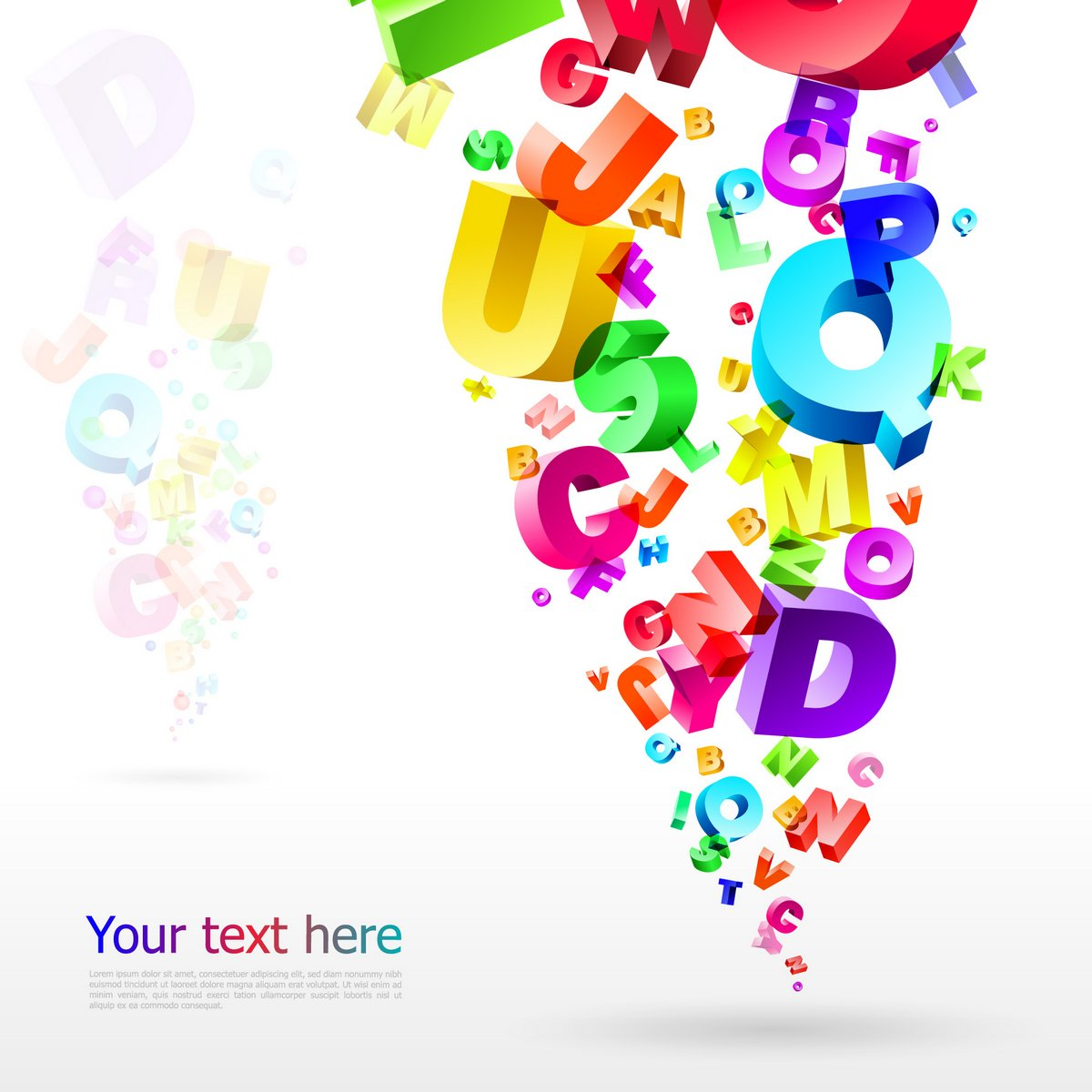 Letters Backgrounds png
