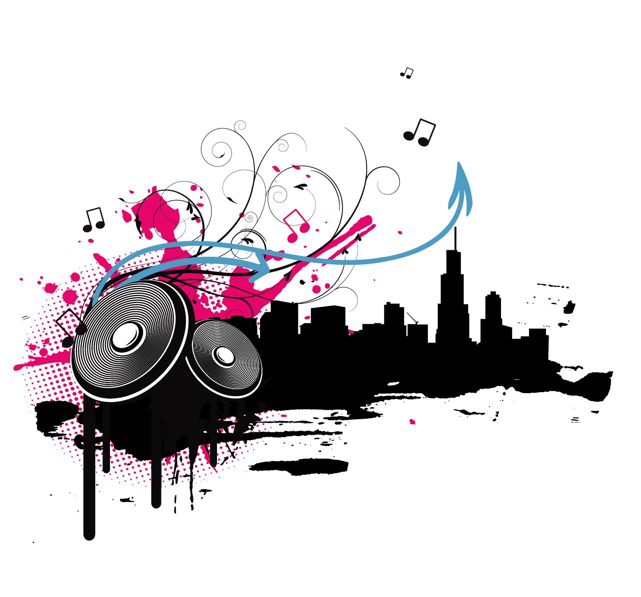 Music background png