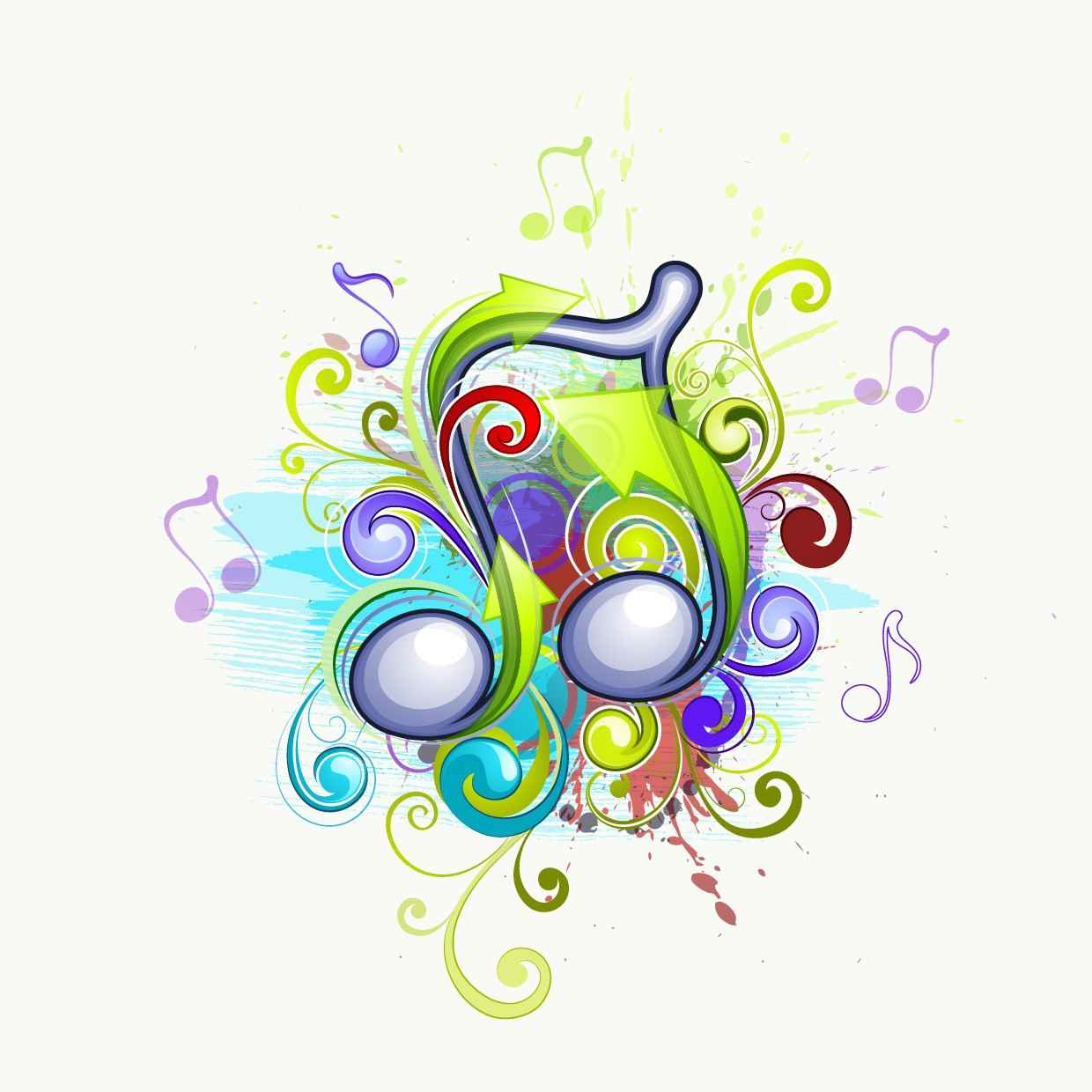 Musical abstract backgrounds png
