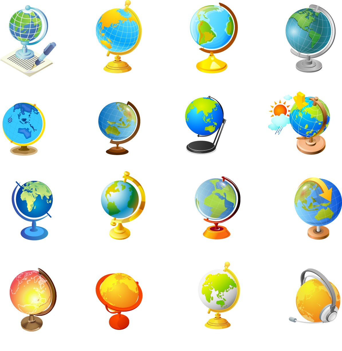 Office supplies   Globe png