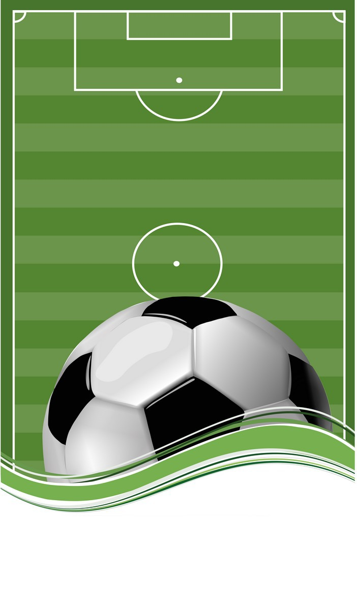 Soccer Ball On Football Field png