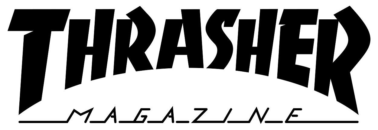 Thrasher Logo   Magazine png