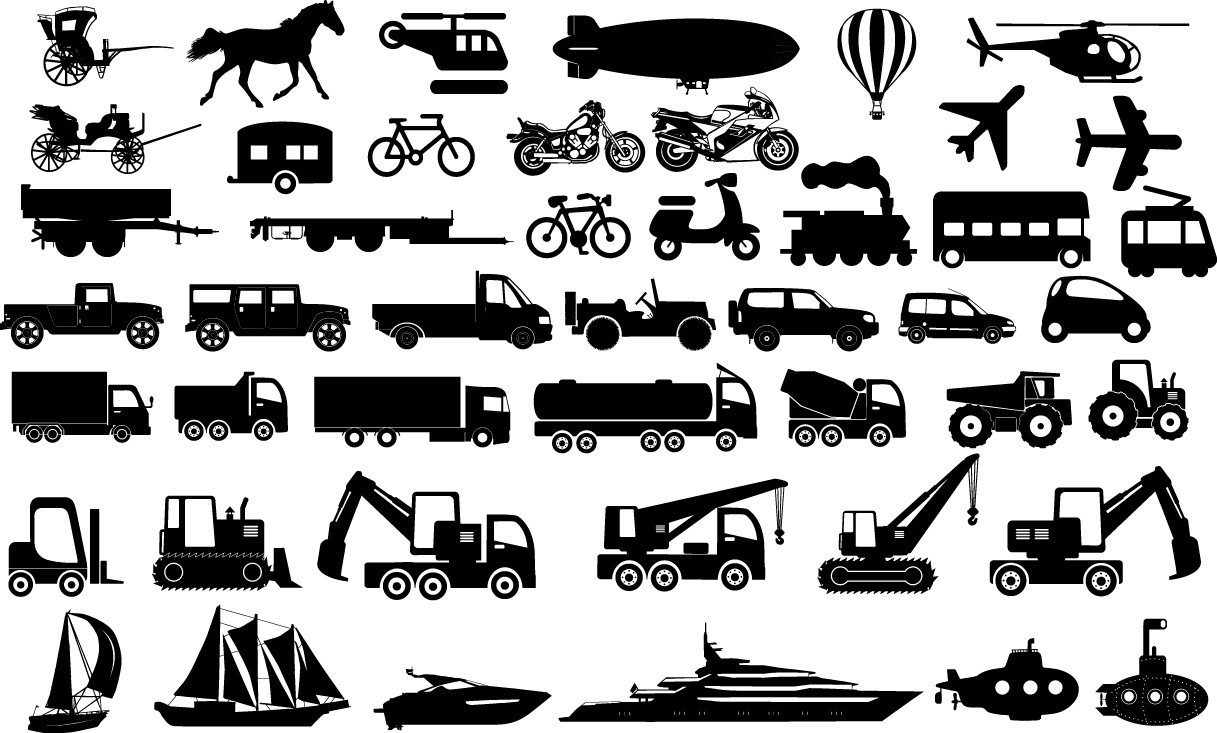 Transportation Icons png