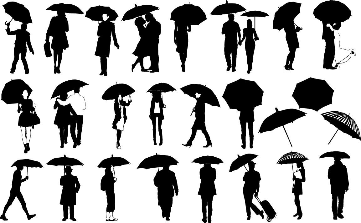 Umbrella silhouette png