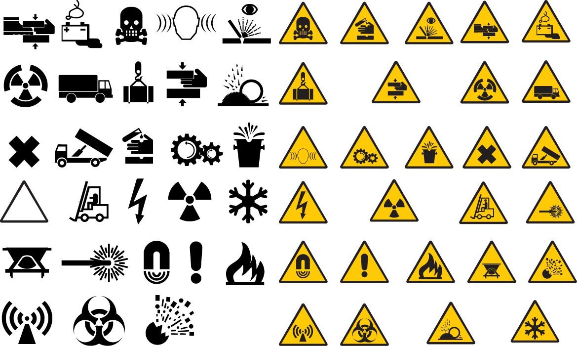 Warning road signs png