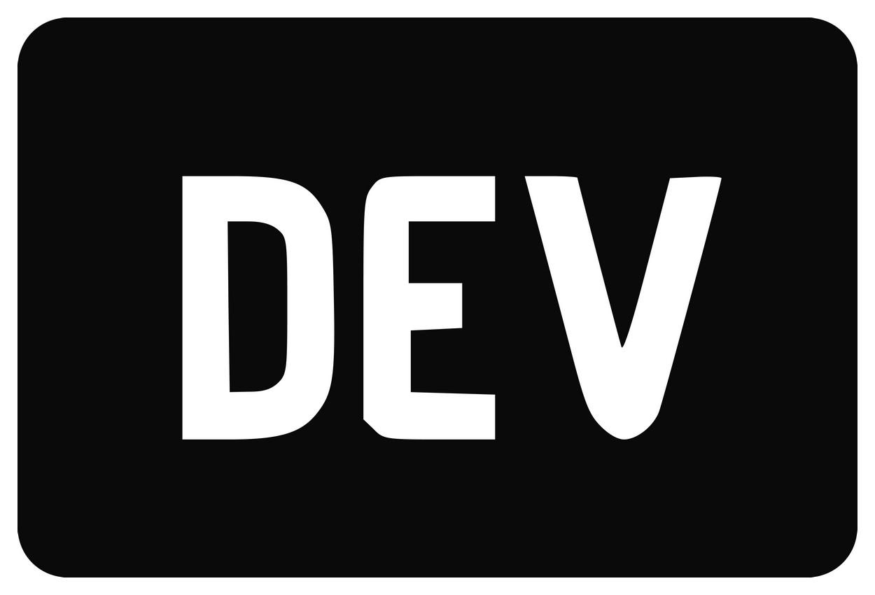 DEV Logo png