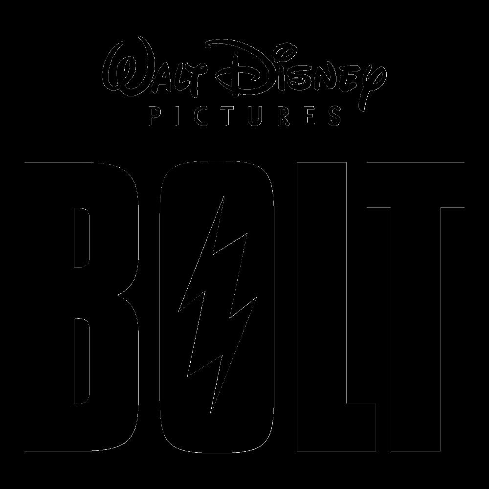 Bolt Logo (Walt Disney) png