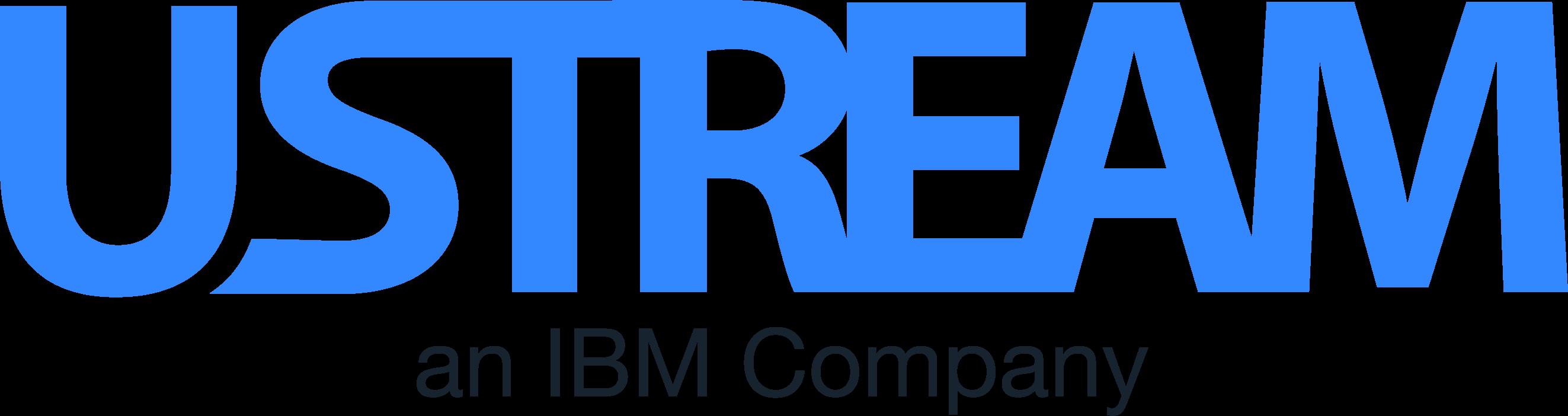 Ustream Logo   IBM Cloud Video png