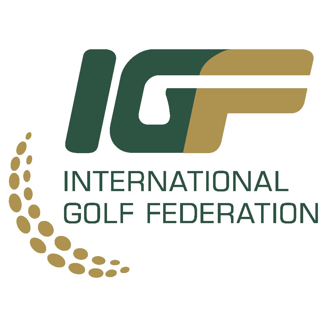 International Golf Federation (IGF) Logo png