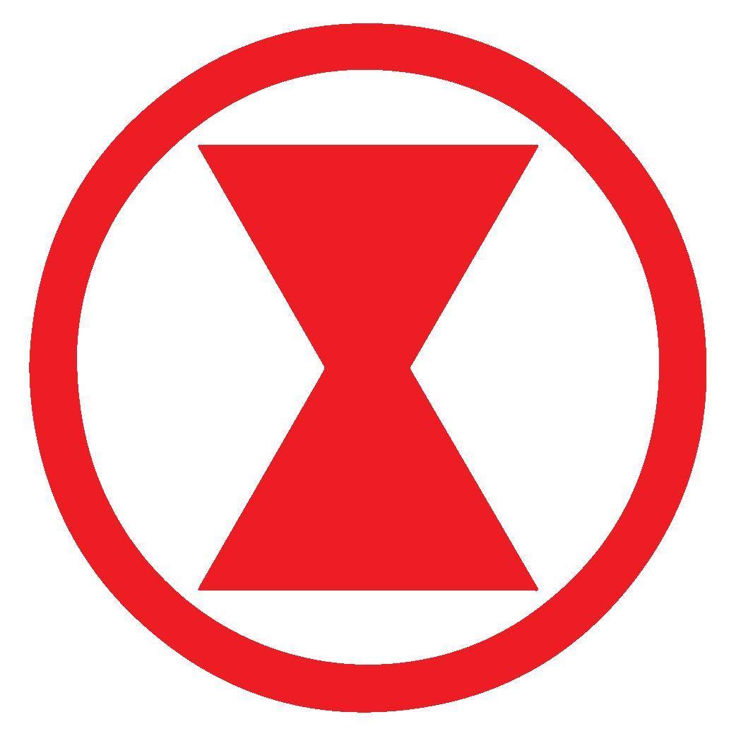 Black Widow Logo png
