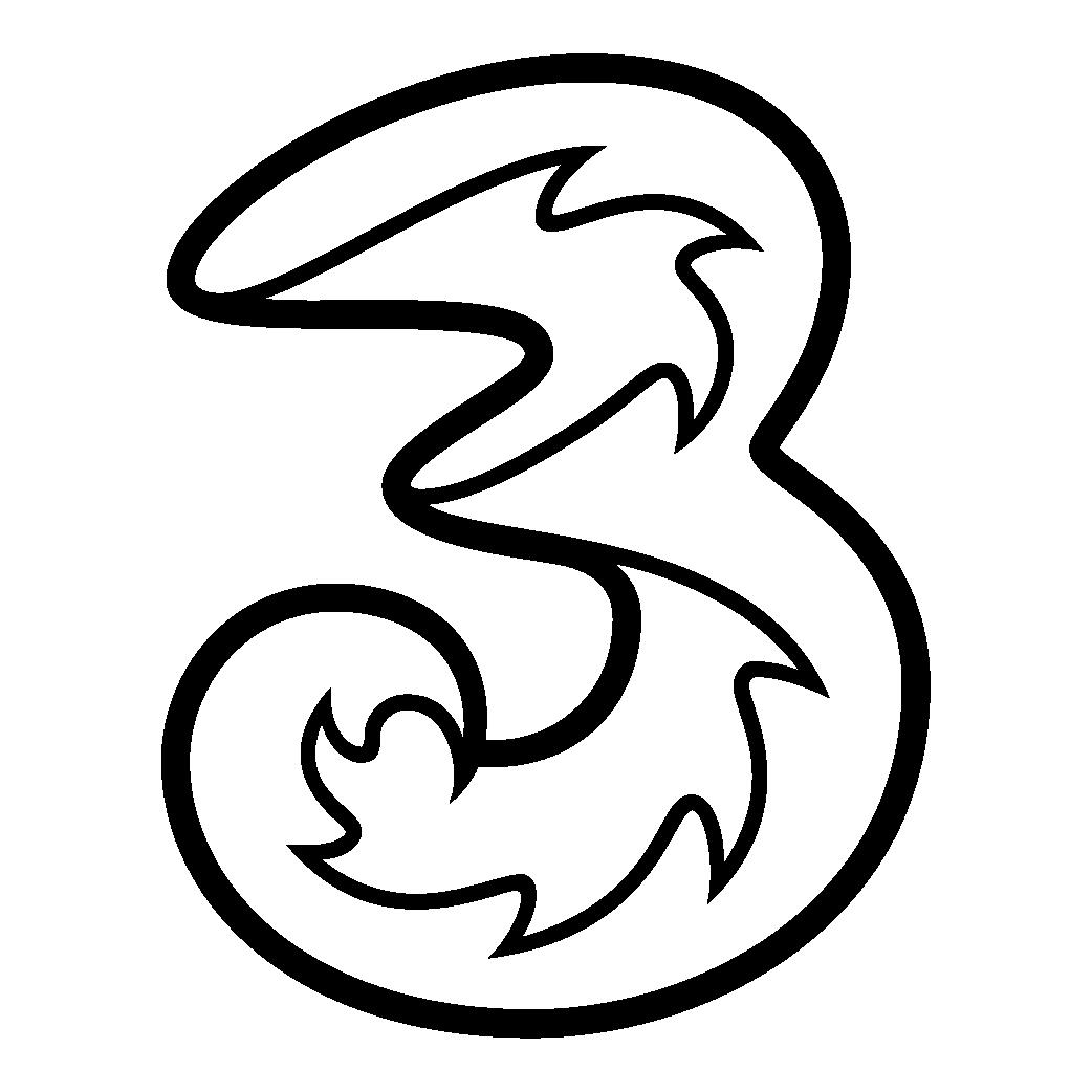 3 Logo [Hutchison 3G] png